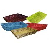 Corbeille bambou différents coloris