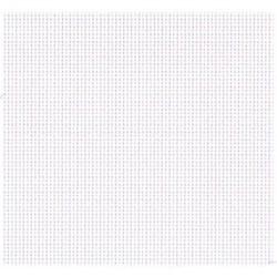 La Vannerie d'Aujourd'hui - Détail du maillage du rideau de porte en coton, coloris écru
