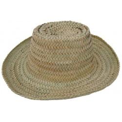 Chapeau en doum naturel