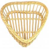 Corbeille à pain ajouré forme coeur petit modèle
