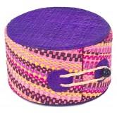 La Vannerie d'Aujourd'hui - Boîte à bijoux en Rabane, plusieurs tailles et coloris disponibles