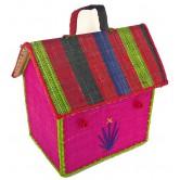 La Vannerie d'Aujourd'hui - Boîte à goûter en rabane, forme de maison