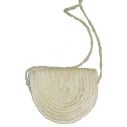 Sac à main palmier naturel anse sisal