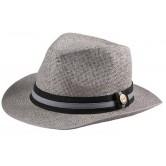 Chapeau Panama Gris
