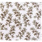 La Vannerie d'Aujourd'hui - Détail du rideau de porte en coton, motif Jungle