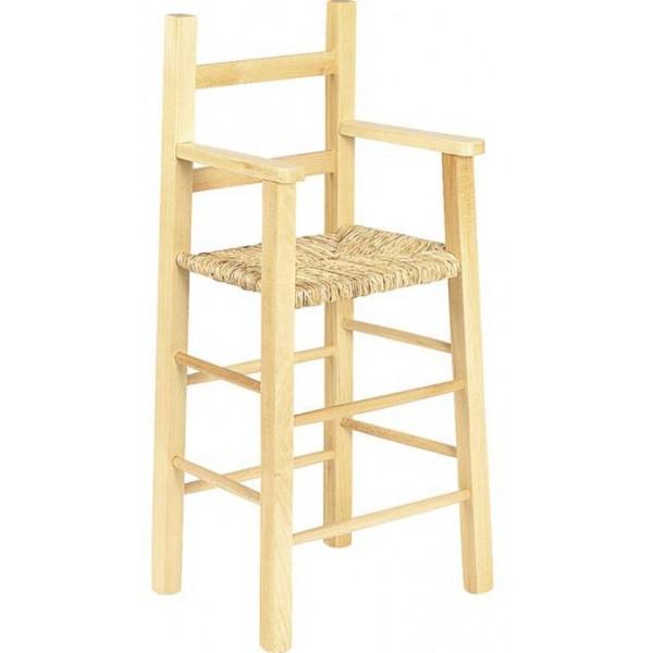 chaise haute enfant bois naturel. Black Bedroom Furniture Sets. Home Design Ideas