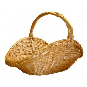 La Vannerie d'Aujourd'hui - Panier à bois en osier, plusieurs types d'osier disponibles