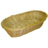 Banneton à pain osier blanc