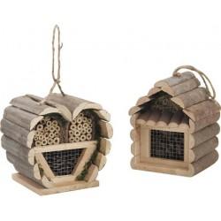 La Vannerie d'Aujourd'hui - Maison à insectes en bois à suspendre