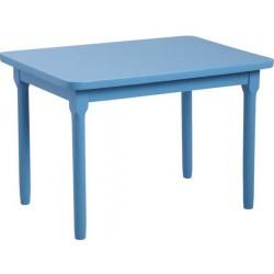 Table enfant hêtre laqué bleu ciel