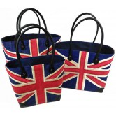 "Cabas rabane motif ""London"""