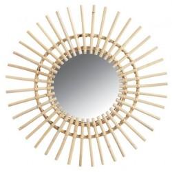 Miroirs rotin