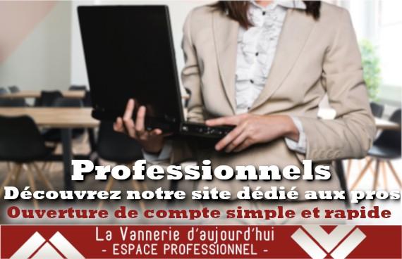 La Vannerie d'Aujourd'hui - Espace professionnel (Inscription)